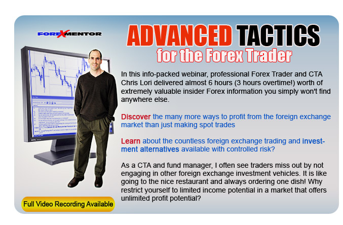 Advanced Tactics For The Forex Trader by Chris Lori (online)