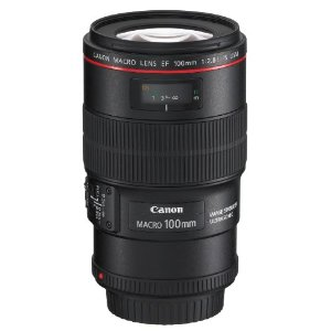 Canon EF 100mm f/2.8L IS USM 1-to-1 Macro Lens for Canon