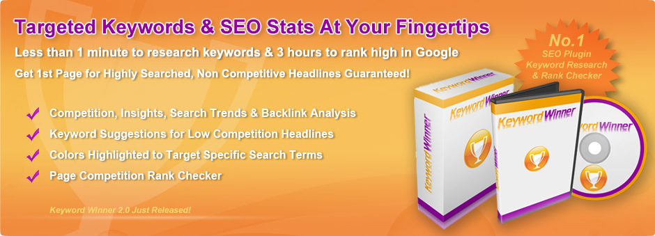 Keyword Winner - Premium WordPress SEO Plugin