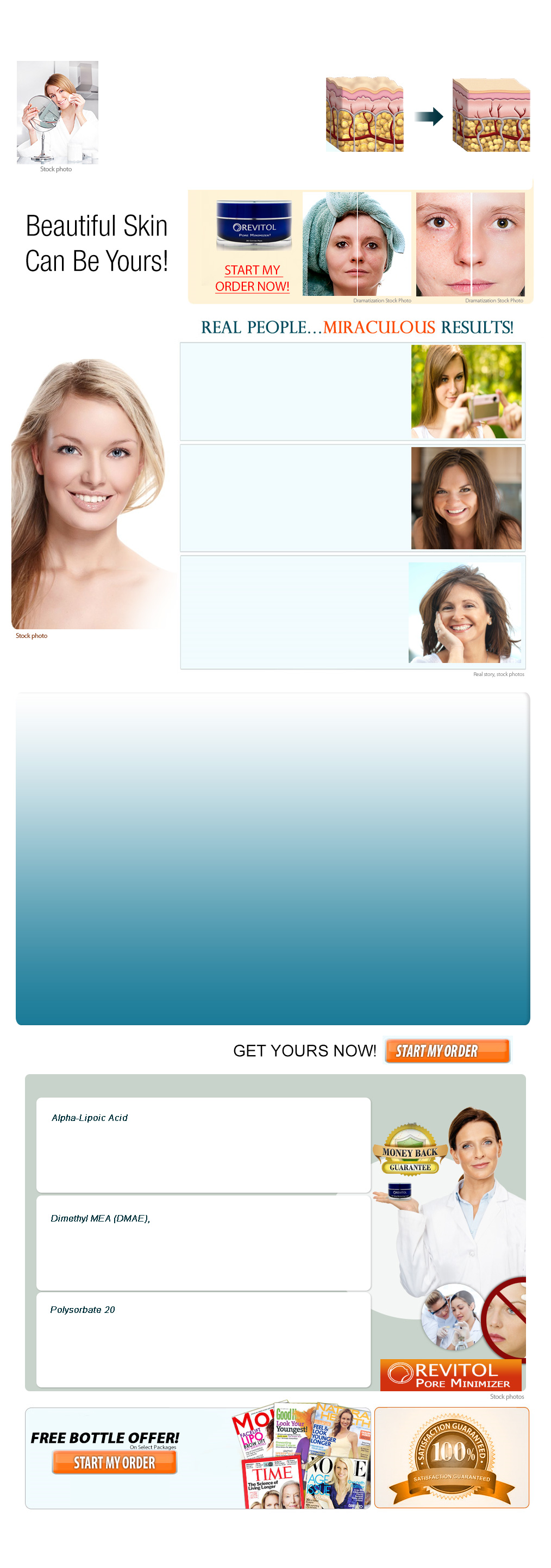 Revitol Pore Minimizer - The Ultimate Skin Care System