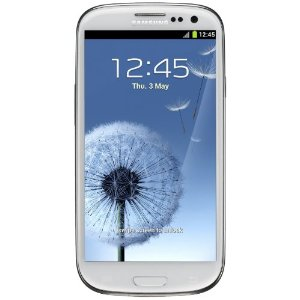 SAMSUNG GALAXY SIII GT-i9300 16GB MARBLE WHITE FACTORY UNLOCKED